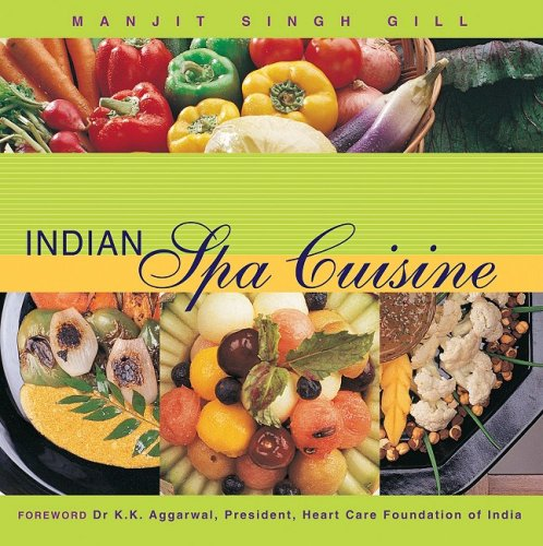 9788174363558: Indian Spa Cuisine
