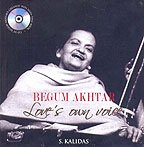 9788174365958: Begum Akhtar - Love's own Voice (Book + CD)