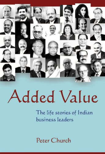9788174367655: Added Value-the life stories of Indian business leaders