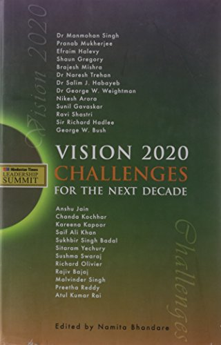 9788174368034: Vision 2020: Challenges for the Next Decade
