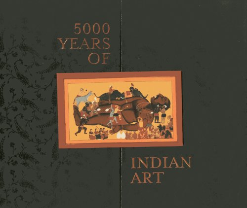 9788174368539: 5000 Years of Indian Art