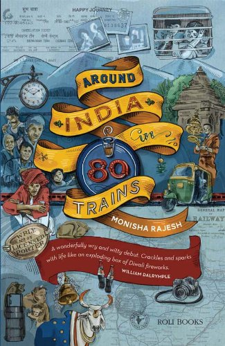 9788174369130: Around India in 80 Trains
