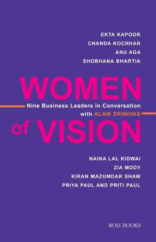 9788174369345: Women Of Vision: Nine Business Leaders In Conversation With Alam