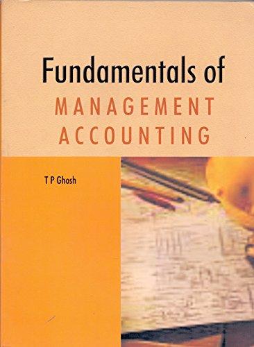 9788174461797: Fundamentals of Management Accounting