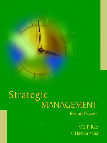 Strategic Management: Text and Cases (Paperback): V. S. P.