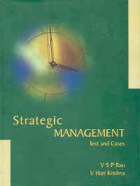 Strategic Management: Text and Cases (Hardback): V. S. P.