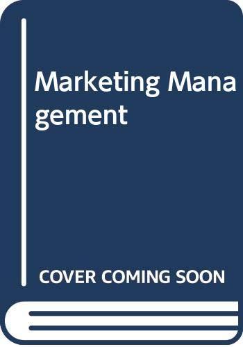 9788174463630: Marketing Management