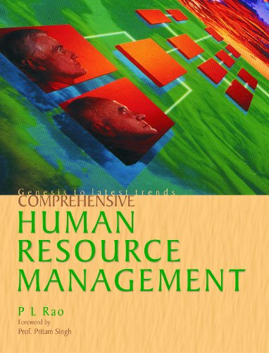 Comprehensive Human Resource Management: P L Rao (Author) & Prof Pritam Singh (Frwd)