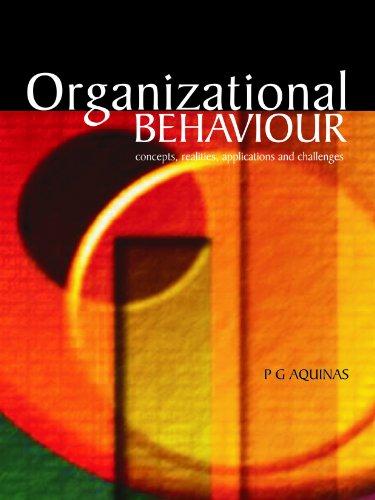 9788174464743: Organisation Behaviour