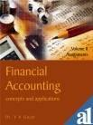 Financial Accounting: v. 2: Concepts and Applications: Dr. V. K.