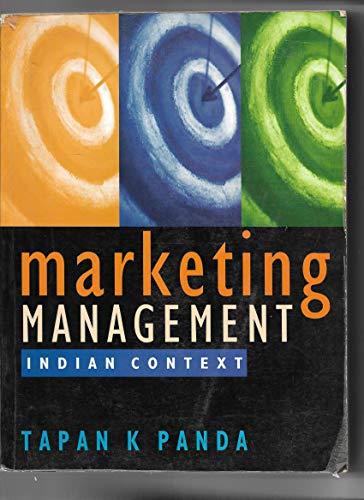 9788174465115: Marketing Management: Indian Context