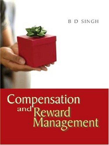 9788174465467: Compensation and Reward Management