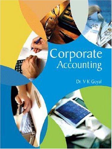 Corporate Accounting: V K Goyal