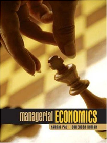 Managerial Economics: Karam Pal and Surender Kumar
