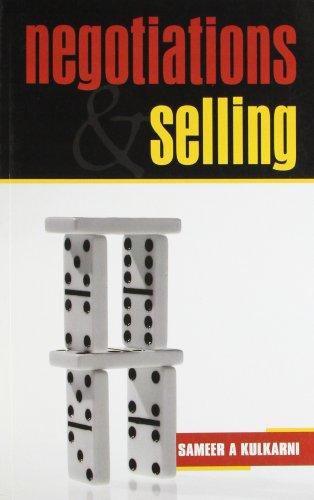 Negotiations and Selling: Sameer A Kulkarni