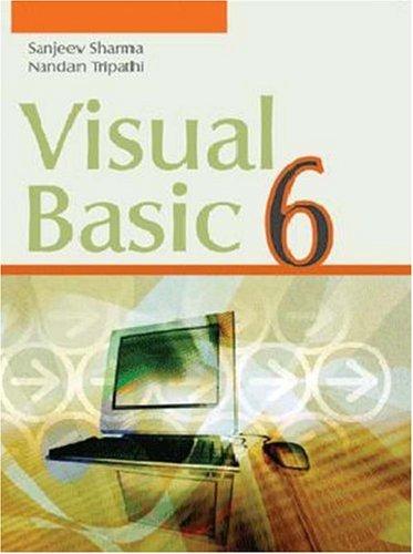 9788174467041: Visual Basic 6