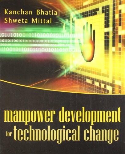 Manpower Development for Technological Change: Kanchan Bhatia,Shweta Mittal
