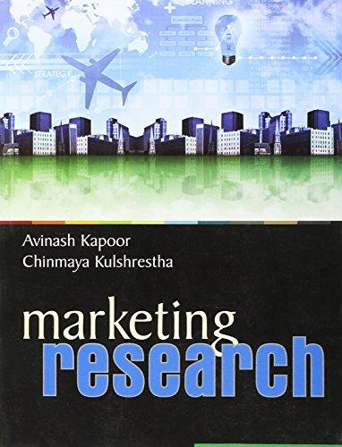 Marketing Research: Avinashi Kapoor,Chinmaya Kulshrestha