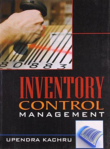 Inventory Control Management: Upendra Kachru