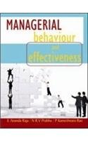 Managerial Behaviour and Effectiveness (Second Edition): E. Ananda Raja,N R V Prabhu,P Kameswara ...