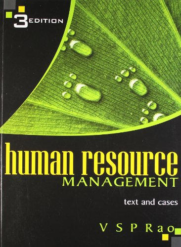 Human Resource Management (Third Edition): V S P