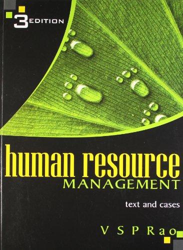9788174468956: Human Resource Management