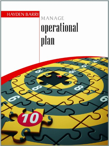 Manage Operational Plan: Hayden Barry