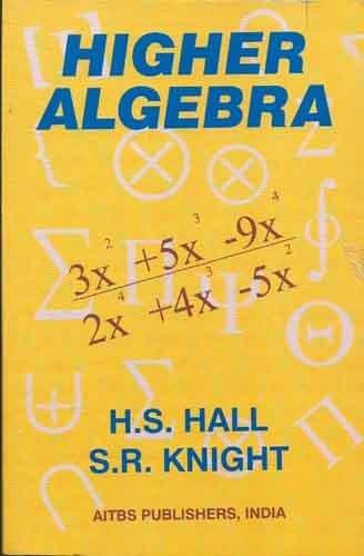 9788174731043: Higher Algebra,