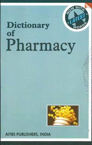 9788174732392: Dictionary Of Pharmacy