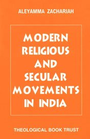 9788174750198: Modern Religious and Secular Movements in India