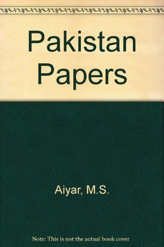 9788174760081: Pakistan Papers