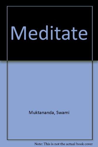 9788174760371: Meditate