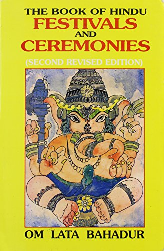 9788174761637: The Book of Hindu Festivals and Ceremonies