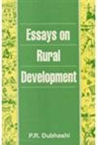 Essays on Rural Development: P.R. Dubhashi