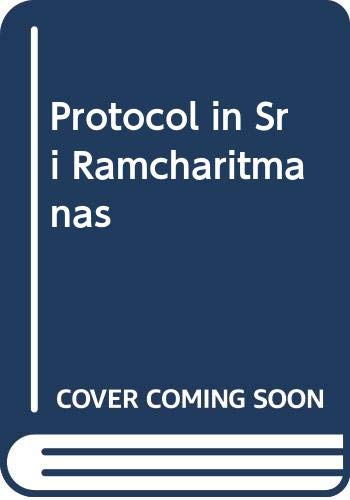 Protocol in Sri Ramcharitmanas: D.D. Aggarwal