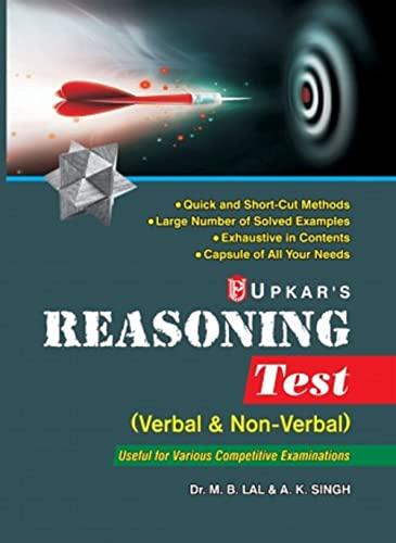 Reasoning Test: Singh A.K. Lal