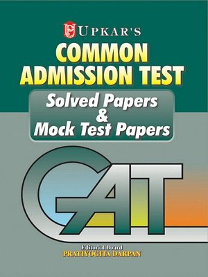 CAT Solved Papers and Mock Test Papers: None