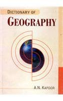 Dictionary of Geography: A N Kapoor