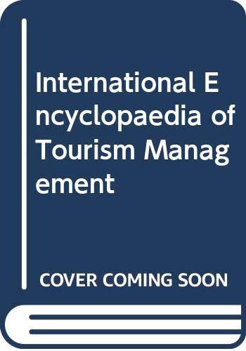 9788174884862: International Encyclopaedia of Tourism Management