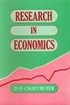 9788174885821: Research in Economics