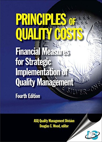 9788174890405: Principles of Quality Costs : Financial Measures for Strategic Implementation of Quality Management