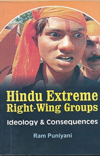 9788174951731: Hindu Extreme Right Wing Groups: Ideology and Consequences