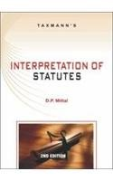 Interpretation of Statutes (Second Edition): D.P. Mittal