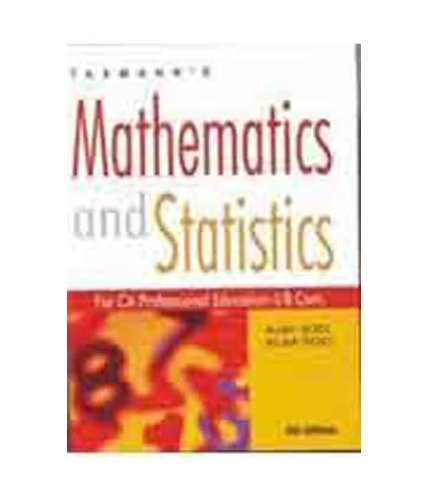 9788174968227: Mathematics & Statistics