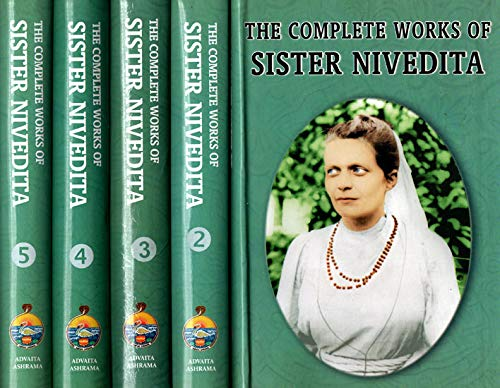 9788175050099: The Complete Works of Sister Nivedita (Set of 5 Volumes)