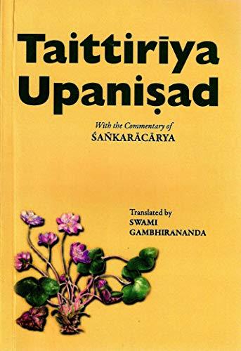 9788175050242: Taittiriya Upanisad
