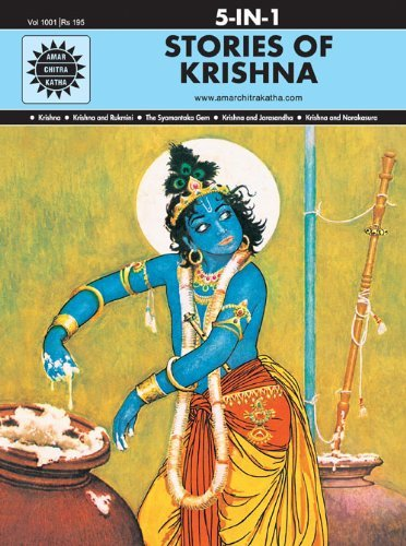 9788175081420: Stories of Krishna (Amar Chitra Katha)