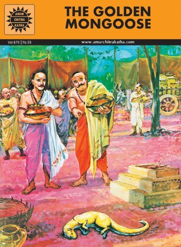 The Golden Mongoose (Amar Chitra Katha): Anant Pai,Dilip Kadam,luis Fernades