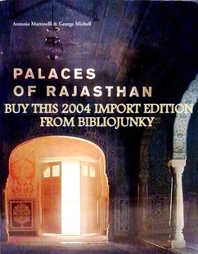 9788175083875: Palaces of Rajasthan (Import Edition)