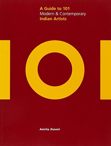 9788175084230: A Guide to 101 Modern & Contemporary Indian Artists (Saffron Art Price Reference Guides)